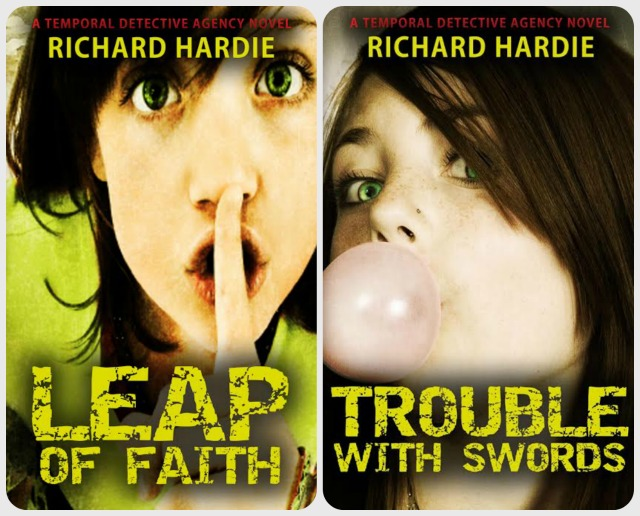 Richard Hardie from Chandler's Ford has published two books in The Temporal Detective Agency series.