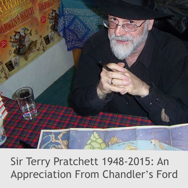 Sir Terry Practhett appreciation article by Allyson Symes