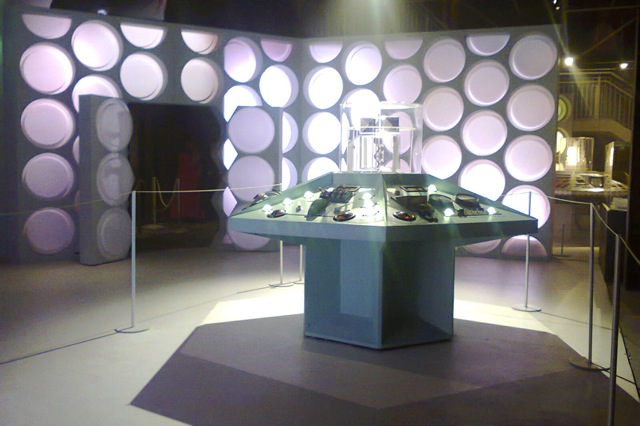What the Tardis used to look like. The DOCTOR WHO EXPERIENCE in Cardiff.