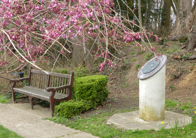 Park in West End with Richard St Barbe Baker's memorial plaque