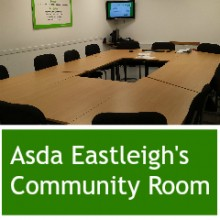 Asda Eastleigh's Community Room
