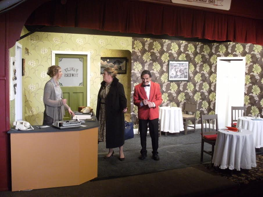 Communication Problems - Fawlty Towers - by Chameleon Theatre Company, Chandler's Ford.
