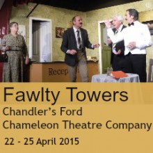 Fawlty Towers Chameleon Theatre Company Chandler's Ford