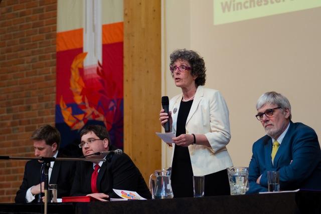 Liberal Democrats - Jackie Porter. Image: Alan Fry.