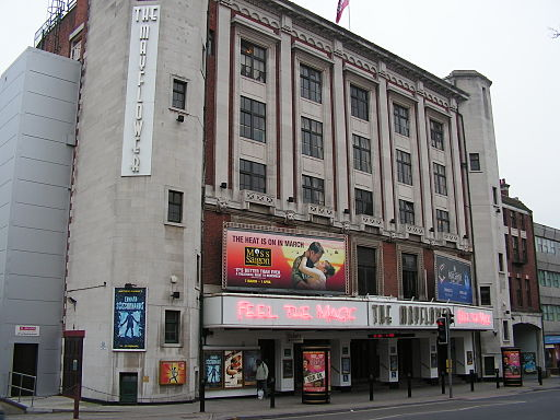The Mayflower Theatre, Southampton - Turquoisefish via Wikimedia Commons.