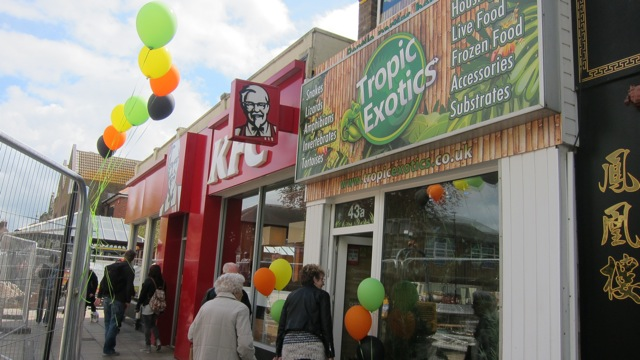 Tropic Exotics in Eastleigh opened today.