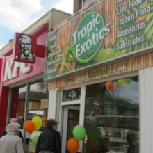 New – Tropic Exotics in Eastleigh Town Centre