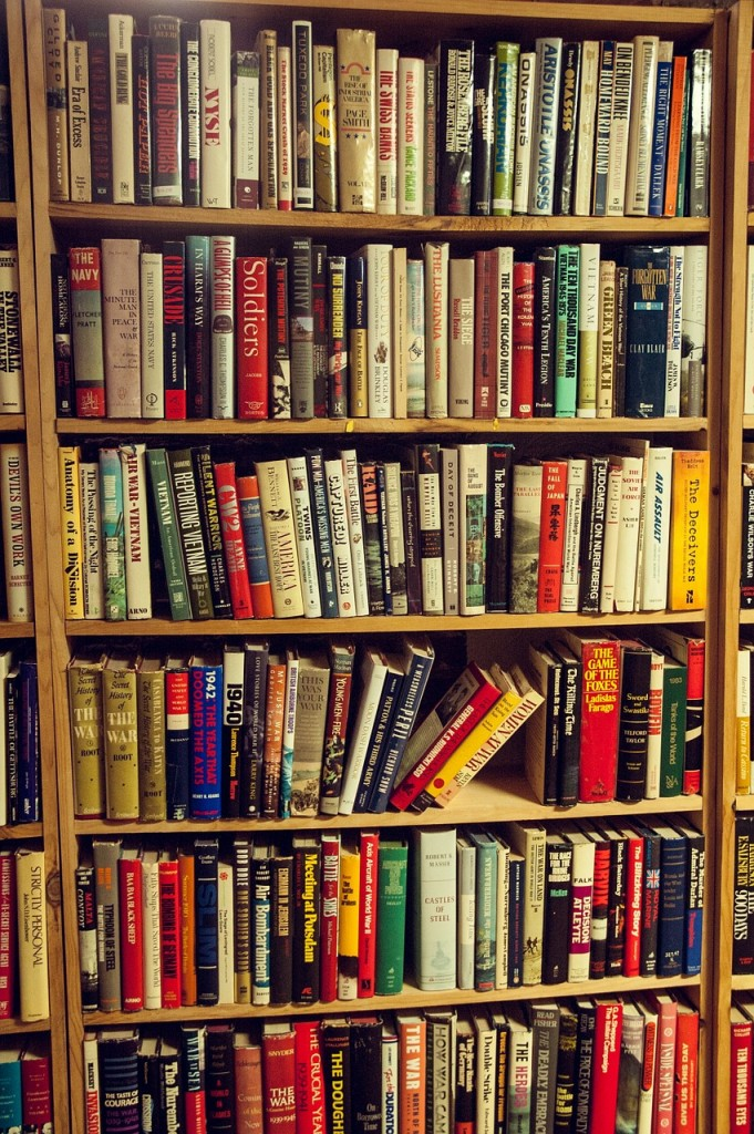 Books in a bookshop Image from Pixabay under License CC0 Public Domain