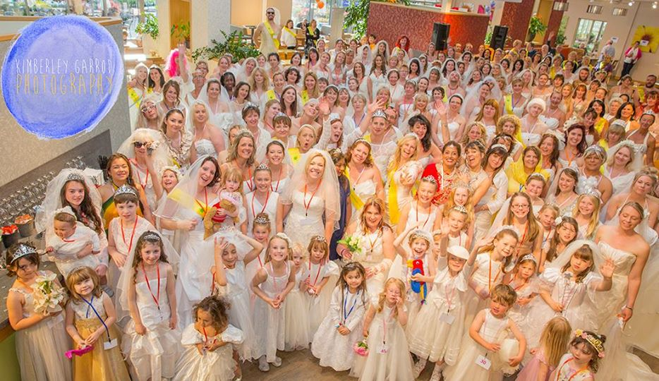 Brides fundraising for Countess Mountbatten Hospice Charity.