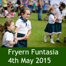 Build a Community We Are Proud of: Fryern Funtasia 4th May 2015