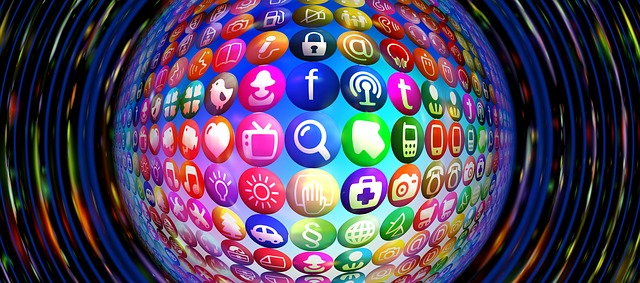 Social Media Icons  Image from Pixabay License CC0 Public Domain
