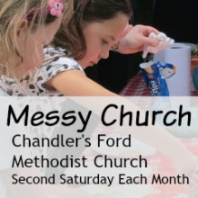 New Messy Church at Chandler's Ford Methodist Church