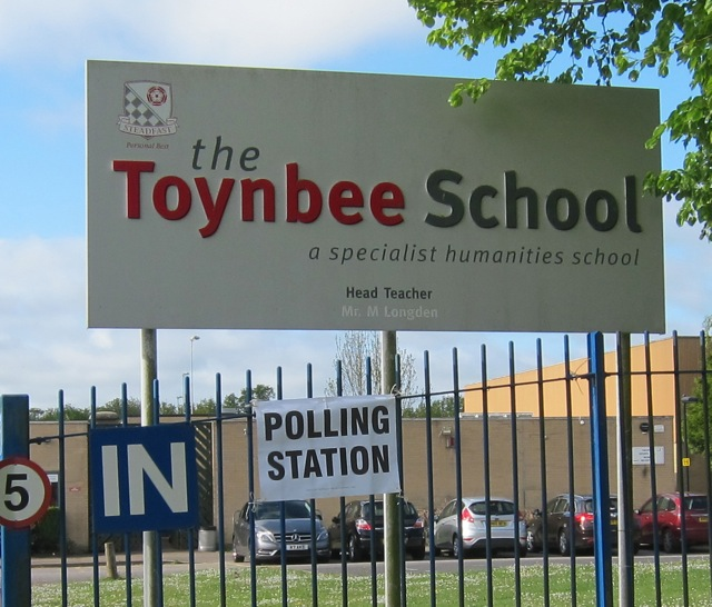 Toynbee Scool, Bodycoats Road, Chandler's Ford.