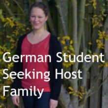 German Student Seeking Host Family