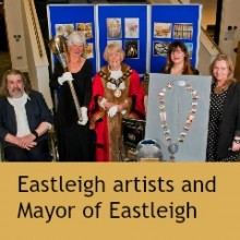 Eastleigh Artists Shine: Mayor's Ceremonial Mace and Chain