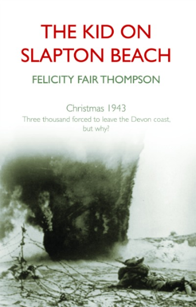 The front cover of The Kid on Slapton Beach