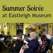Eastleigh Museum Summer Soirée with the Chameleons