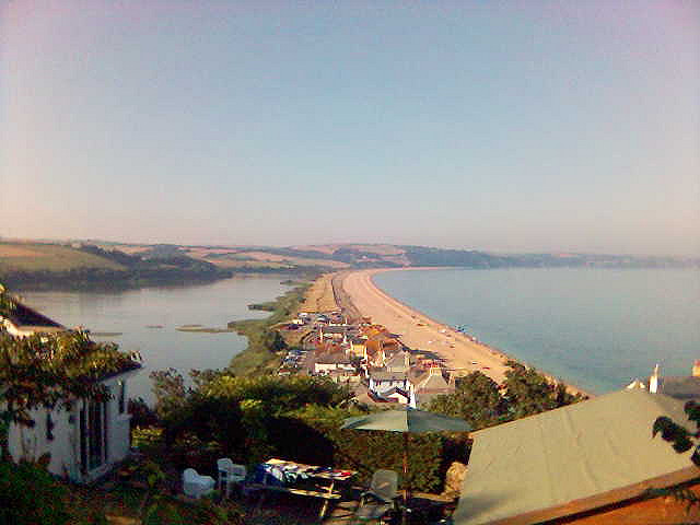 Slapton Beach looks so peaceful... it wasn't in 1944.