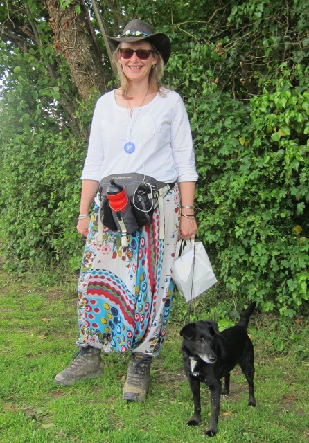 Wendy did a sponsored walk for Southampton Blue Cross.