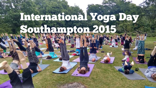international yoga day Southampton 2015