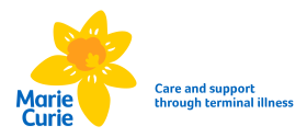 marie curie charity logo