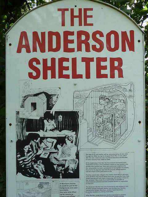 Anderson Shelter info image by BowBelle51 via Flickr