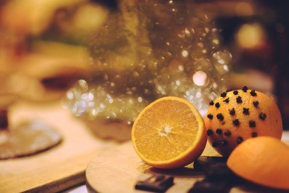 Christmas orange