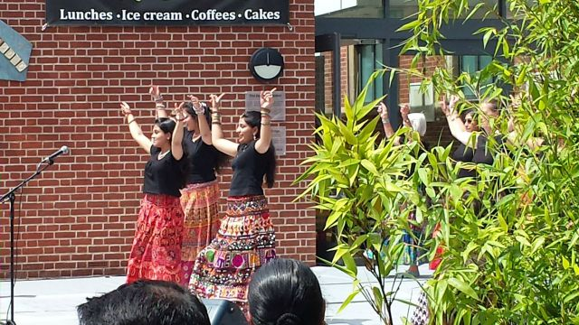 Eastleigh 10th Mela Dancers. Image credit: Cecily Casey.