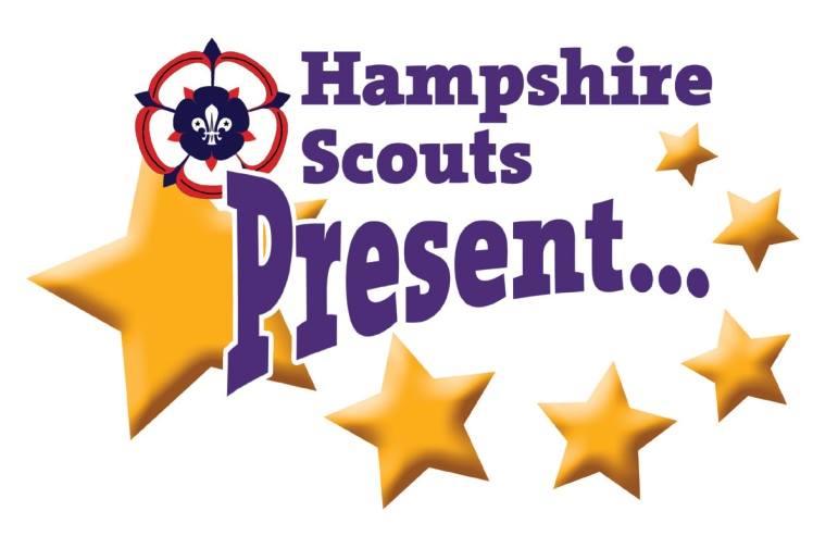 Hampshire Scouts Present logo