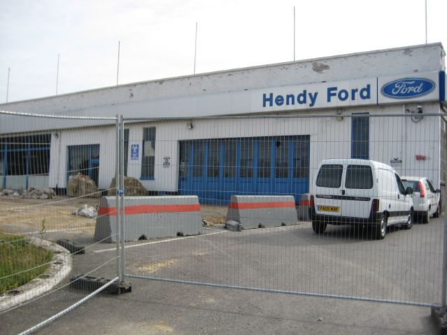 Hendy Ford, Chandler's Ford. Image credit: Lorraine Colliss. 17th September 2007