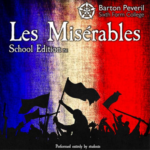 Les Mis Barton Peveril poster 2015