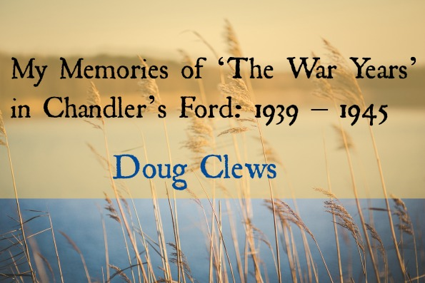 Memories of the War Years header