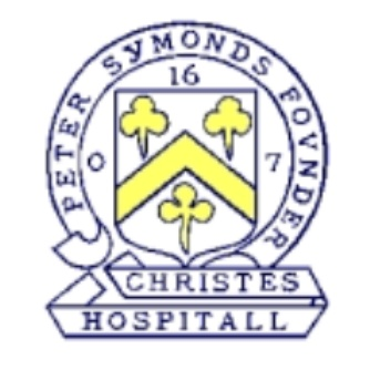 "Peter Symonds' School Badge. Image: Kind permission: <a href=""http://petersymondsschoolnostalgiacorner.blogspot.com.au/"">Peter Symonds' School Nostalgia Corner</a>."