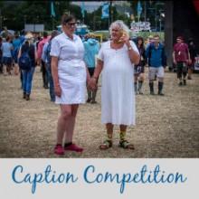 Glastonbury: Caption Competition