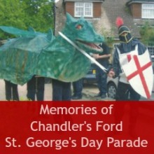 Memories of Chandler's Ford St. George's Day Parade: Lyn Darbyshire