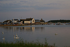 Mudeford quay at Dusk. Hec Tate - Flickr