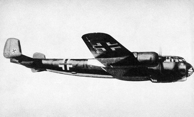 "A German Dornier Do 217E-2 bomber, ca. 1942. Image via <a href=""https://en.wikipedia.org/wiki/Dornier_Do_217"">Wikimedia</a>."
