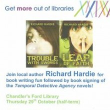 Richard Hardie's Book Writing Fun at Chandler's Ford Library