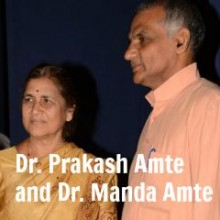Doctor Prakash Amte and Doctor Manda Amte