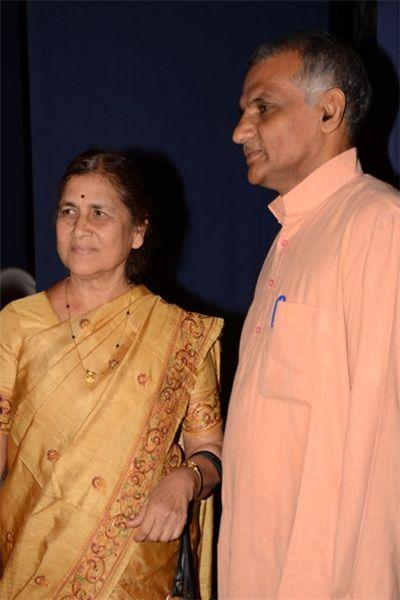 Dr. Prakash Amte and Dr Manda Amte