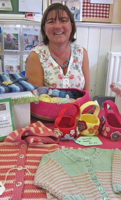 Jane is a talented crafter from Hiltingbury.