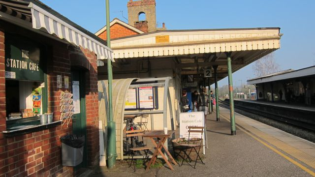 Romsey rail station