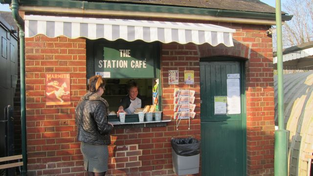 Romsey Station Cafe