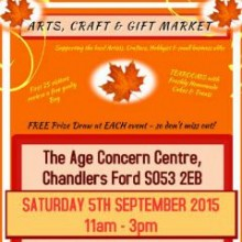 Chandler's Ford Age Concern Centre: Upcoming Craft and Gift Markets