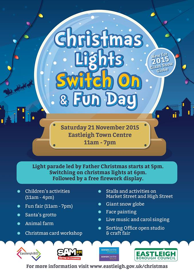 Christmas Eastleigh Saturday 21 Nov 2015