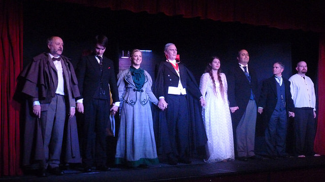 The cast - Dracula by The Chameleon Theatre Company.