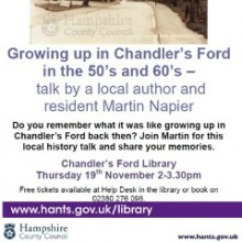 An Interactive Local History Talk by Martin Napier