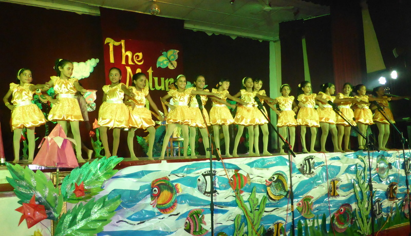School concert at Hillwood College themed 'The Nature Trail'