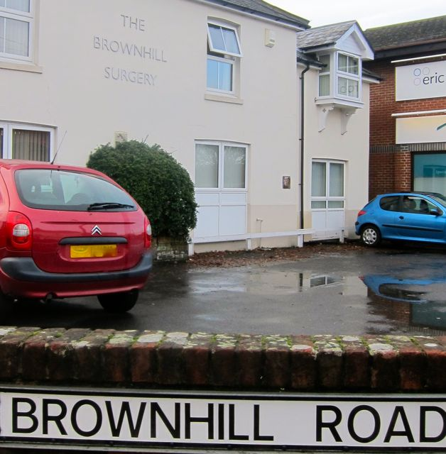 Parking at Brownhill Surgery is limited