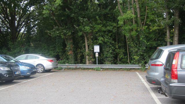 Parking sign Fryern Arcade